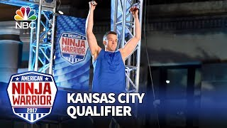 Kyle Schulze at the Kansas City Qualifiers - American Ninja Warrior 2017