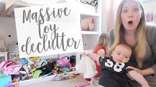 MASSIVE TOY DECLUTTERING, ORGANISATION AND MINIMALISM