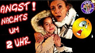 NACHTS UM 2 UHR IM KINO | PANISCHE ANGST Vlog #144 Our life FAMILY FUN