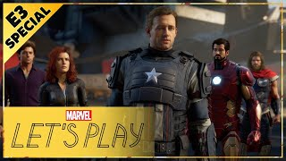Fans React to the Marvel's Avengers E3 2019 Reveal!
