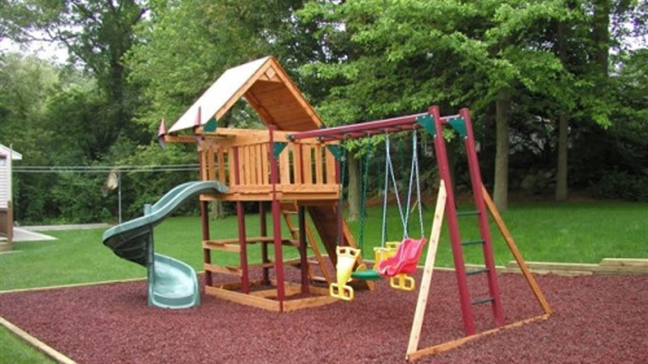 Детская площадка своими руками: фото и идеи для строительства