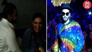 Deepika – Ranveer Get Spotted On A Date | Ranveer Keeps His Fashion Statement Quirky