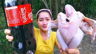Yummy Chicken Cooking Cocacola - Chicken Roasted - Cooking With Sros