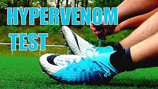 "NIKE HYPERVENOM 3 III Play Test ""Perfect Striker Boots"""
