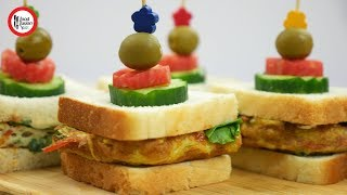Sandwich 3-ways (Back to school special) by Food Fusion Kids