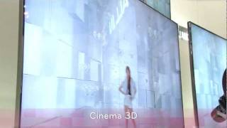 LG Cinema 3D CES 2012