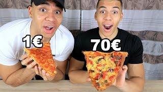 1€ PIZZA VS 70€ PIZZA | PrankBrosTV