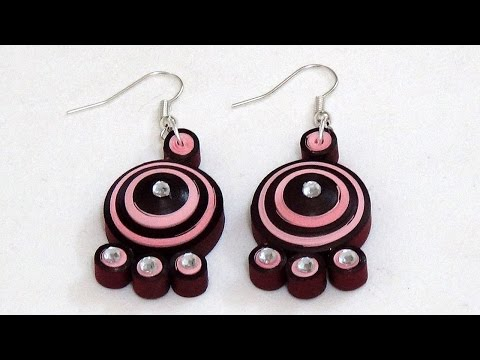 Le Quilling Paper Earrings New Designs