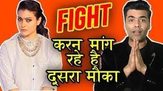 Karan Johar EMOTIONAL Message To Kajol, Wants To Patch Up