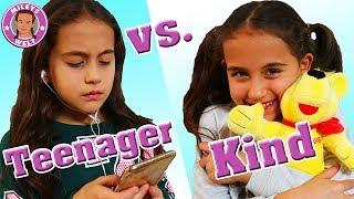 KIND VS. TEENAGER 😄 + lustige Outtakes - MILEYS WELT