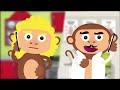 5 Küçük Maymun Yatakta Zıplamış - ...mp3