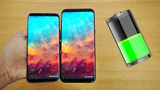 Samsung Galaxy S8 & S8 Plus Battery Life Review! (4K)