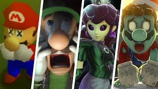 Evolution of Creepy Super Mario Moments (1996 - 2018)