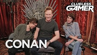 """Clueless Gamer: """"Overwatch"""" With Peter Dinklage & Lena Headey  - CONAN on TBS"""