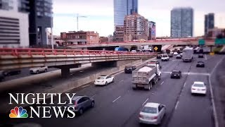 Busiest Thanksgiving Travel In A Decade   NBC Nightly News