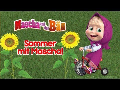 Mascha Und Der Bär Ausmalbilder Färbung 3 Kleine Hände Malbuch