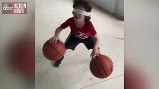 VIDEO | 3 and 5-year-old brothers amaze with basketball skills