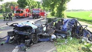 [HORROR-UNFALL IN KORSCHENBROICH] - 3 Tote nach Frontalunfall auf Bundesstraße -
