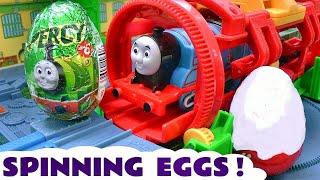 Thomas and Friends Surprise Eggs Toy Trains for kids Tomas y sus amigos Kinder huevos sorpresa TT4U