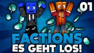 ES GEHT LOS! - MINECRAFT FACTIONS #01 | DieBuddiesZocken