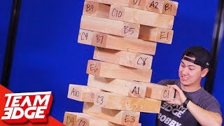 Super GIANT Jenga!! **Dangerous**😳