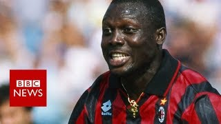 The football legend who became president - BBC News