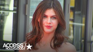 Alexandra Daddario On Touching Zac Efron