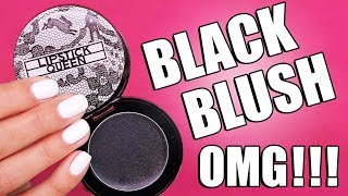 COLOR CHANGING BLACK BLUSH ... OMG !!!