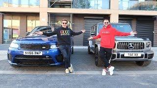 WHO BOUGHT THE BEST SUV?   RANGE ROVER SVR VS G63 AMG!