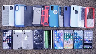 Most Durable iPhone X Cases Drop Test! Top 12