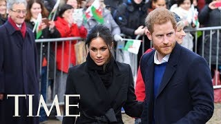 Prince Harry And Meghan Markle Visit Cardiff Castle In Wales | TIME