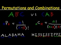 Permutations and Combinations Tutorialmp3