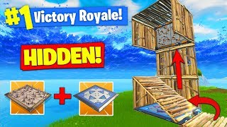 Making A 1000 IQ *INVISIBLE* TRAP In Fortnite Battle Royale