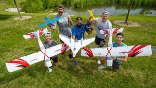 RC Airplane Battle | Dude Perfect