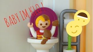 Playmobil film deutsch - VOLLGEKACKTES BABY IM KLO ! / Bekommen Lukas und Sophia Rieseen Ärger