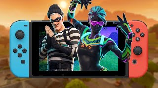 9 Minutes of Fortnite Gameplay on the Nintendo Switch