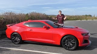 The 2017 Chevy Camaro ZL1 Is an Amazing Bargain For $65,000