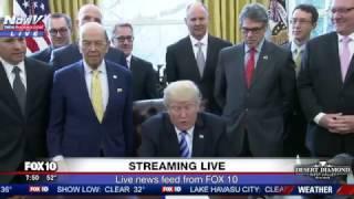 WATCH: President Trump Issues Presidential Permit For Keystone XL Pipeline FNN