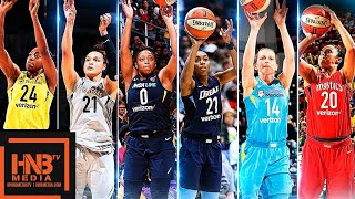 WNBA Three-Point Contest Full Highlights | July 28, 2018 WNBA All-Star Game