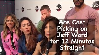 Aos Cast hating on Jeff for 12 minutes