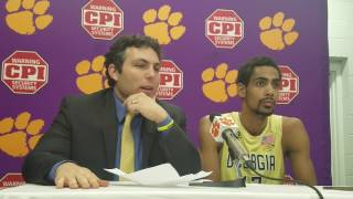 TigerNet.com - Georgia Tech Head coach Josh Pastner
