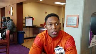 TigerNet.com - Wayne Gallman National Championship media day