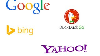 Google vs. Bing vs. DuckDuckGo vs. Yahoo - Versus