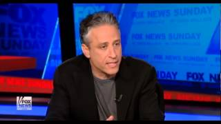 Jon Stewart Vs  Chris Wallace On Fox Bias extended version