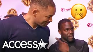 Watch Will Smith Crash Kevin Hart