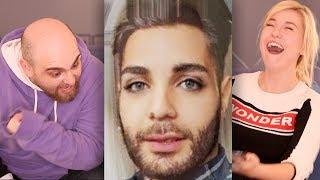 Welcher YouTuber ist es??? FACE MORPH CHALLENGE (Apecrime VS Kelly)