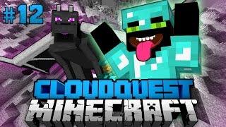 ENDERDRAGON verschenkt LEVEL?! - Minecraft Cloudquest #12 [Deutsch/HD]