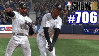 DANCING IN THE WORLD SERIES!   MLB The Show 18   Road to the Show #706