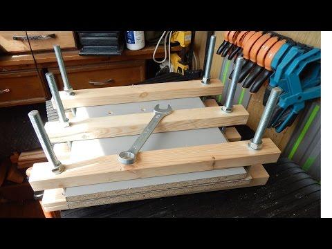 Пресс для склейки дерева своими руками 59