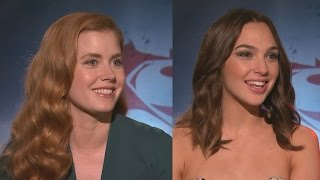 EXCLUSIVE: Amy Adams and Gal Gadot React to Amber Heard Joining